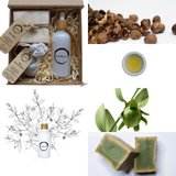 Collage jojoba geschenkset sustOILable