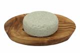 Shampoo Bar Tea Tree sustOILable plasticvrij haren wassen op zeepschaaltje