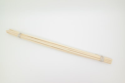 Bamboe geurstokjes 25cm - setje van 12 stuks
