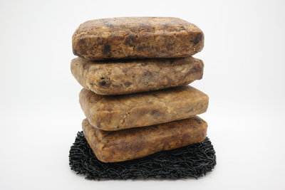 Afrikaanse zwarte zepen - 4 x 100 gram
