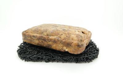 Afrikaanse zwarte zeep - 100 gram