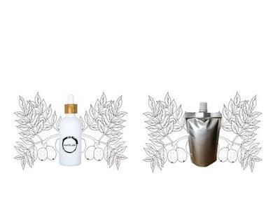 Marula olie flesje 100ml + navulverpakking 100ml