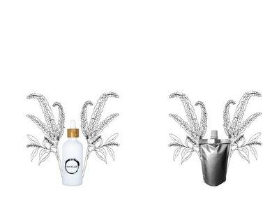 Amarant olie flesje 100ml + navulverpakking 100ml