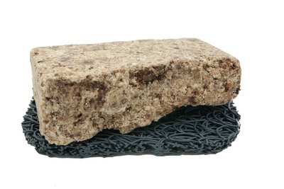 Afrikaanse zwarte zeep licht - 120 gram