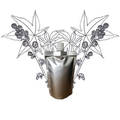 Castor olie - Navulling 200ml pouch met schenkmond