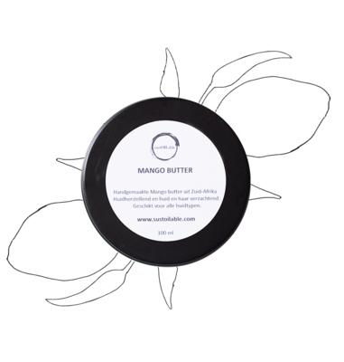 Mango butter - 100ml in recyclebaar blik