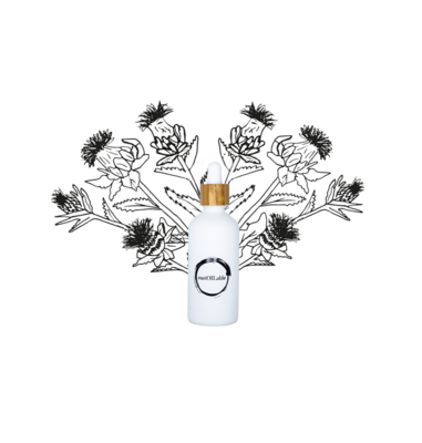 Saffloer olie – Glazen pipetflesje 10ml testformaat