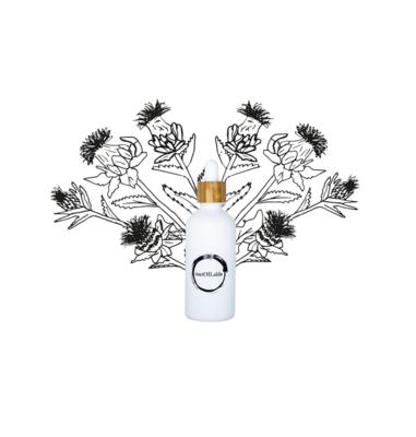 Saffloer olie – Glazen pipetflesje 50ml
