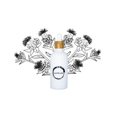 Saffloer olie – Glazen pipetflesje 100ml