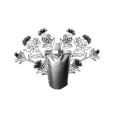Saffloerolie - Navulling 100ml pouch met schenkmond