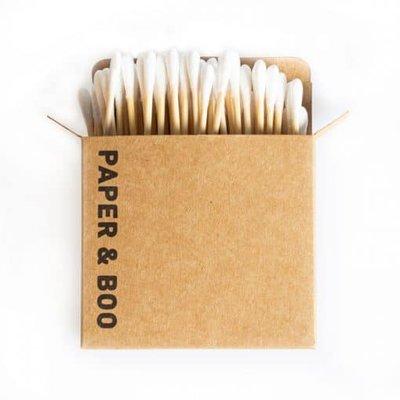 Bamboe wattenstaafjes – plasticvrij en volledig biologisch afbreekbaar 100 stuks