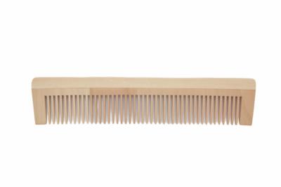 Bamboe houten kam 135mm - plasticvrij verpakt