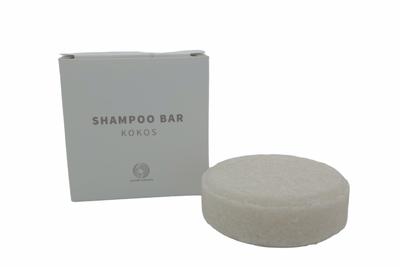 Shampoo bar kokos – plasticvrij verpakt, palmolievrij en vegan