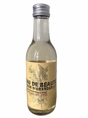 Sinaasappelbloesem beauty water in glazen flesje - 240ml - plasticvrij verpakt