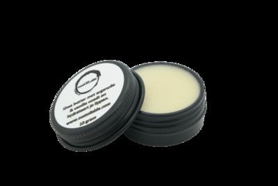 Lippenbalsem shea butter met arganolie en vanille in 10 ml recyclebaar blikje - plasticvrij verpakt