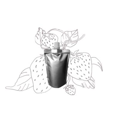 Aardbeienpitolie – Navulling 100ml pouch met schenkmond