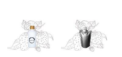 Aardbeienpitolie flesje 100ml + navulverpakking 100ml