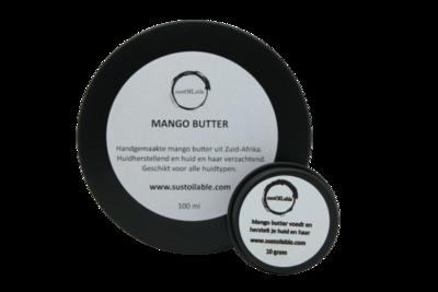 Mango butter - set van 10 + 100ml in recyclebaar blik