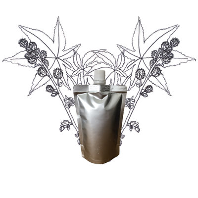 Castor olie - Navulling 100ml pouch met schenkmond
