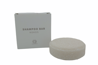 Shampoo Bar Kokos sustOILable plasticvrij haren wassen
